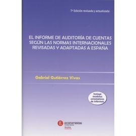 Informe de Auditoría de Cuentas 2017 según las Normas Internacionales Revisadas y Adaptadas a España