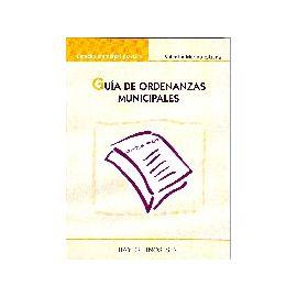 Guía de Ordenanzas Municipales