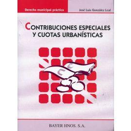 Contribuciones Especiales y Cuotas Urbanísticas.