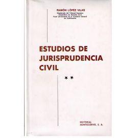 Estudios de Jurisprudencia Civil, 2 Vols.