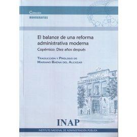 Balance de una Reforma Administrativa Moderna Copérnico: Diez Años Después