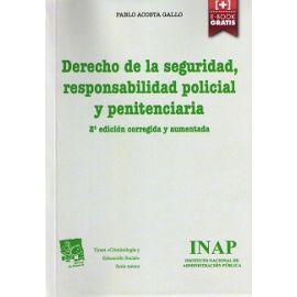 Derecho de la Seguridad, Responsabilidad Policial y Penitenciaria 2015