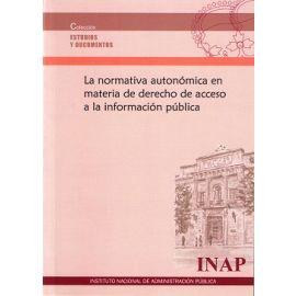 Normativa Autonómica en Materia de Derecho de Acceso a la Información Pública