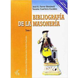 Bibliografía de Masonería. 3 Volúmenes.