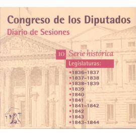 Diario de Sesiones- Legislaturas 1836-1844