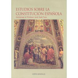 Estudios sobre la Constitución Española. 2 Tomos más ADDENDA Homenaje al Profesor Jordi Solé Tura.