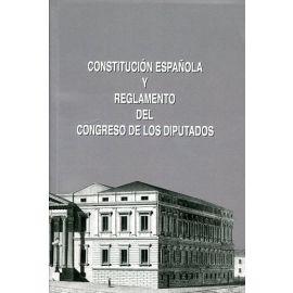 Constitución Española y Reglamento del Congreso de los Diputados XI Legislatura Enero 2016