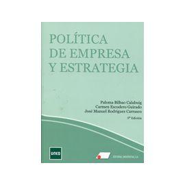 Política de Empresa y Estratégia