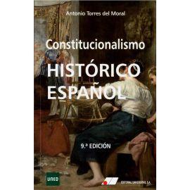 Constitucionalismo histórico español 2018