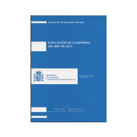 Evaluación de la Reforma del IRPF de 2015