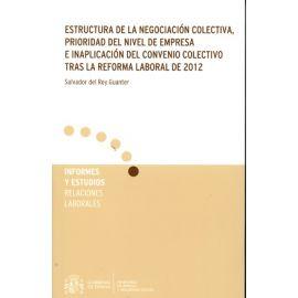 Estructura de la Negociación Colectiva, Prioridad del Nivel de Empresa e Inaplicación del Convenio Colectivo tras la Reforma de 2012