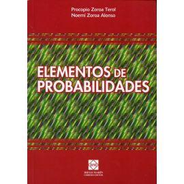 Elementos de Probabilidades.