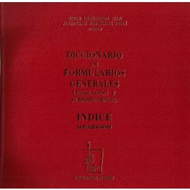 Diccionario de Formularios Generales, Actualizaciones 05 Legislación y Jurisprudencia