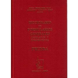 Diccionario de Formularios Generales, 50. Prueba Legislación y Jurisprudencia