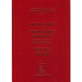Diccionario de Formularios Generales, 64. Responsabilidad Legislación y Jurisprudencia