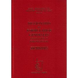 Diccionario de Formularios Generales, 72. Sociedades.
