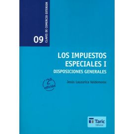 Impuestos Especiales I. Disposiciones Generales