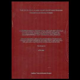 Jurisprudencia Comentada de las sentencias del Tribunal Supremo sobre el Proceso Penal con Tribunal del Jurado. Vol.II. Año 2001
