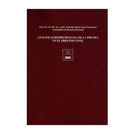 Análisis Jurisprudencial de la Prueba en el Proceso Civil