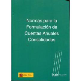 Normas para la Formulación de Cuentas Anuales Consolidadas