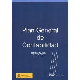 Plan General de Contabilidad 2017 Edición Actualizada a Noviembre 2017