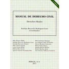 Manual de Derecho Civil. Derechos Reales 2015