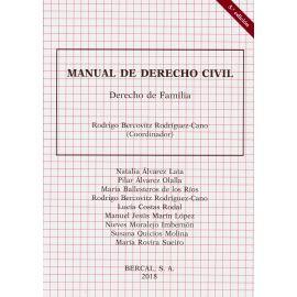 Manual de Derecho Civil. Derecho de Familia 2018