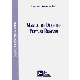 Manual de Derecho Privado Romano