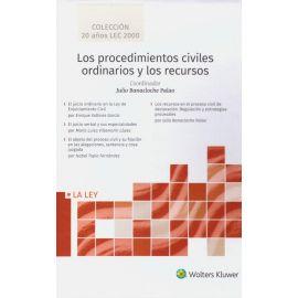 Procedimientos civiles ordinarios y los recursos, 4 Tomos