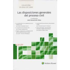 Disposiciones generales del proceso civil, 5 Tomos