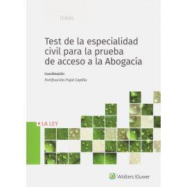 Test de la especialidad civil para la prueba de acceso a la abogacía