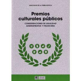 Premios Culturales Públicos Consideraciones de Legalidad Administrativa y Financiera