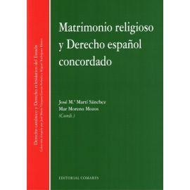 Matrimonio Religioso y Derecho Español Concordado