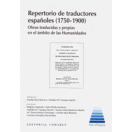 Repertorio de traductores españoles (1750-1900). Obras traducidas y propias en el ámbito de las humanidades