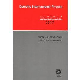 Derecho Internacional Privado, Vol. I 2018