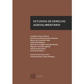 Estudios de Derecho Agroalimentario