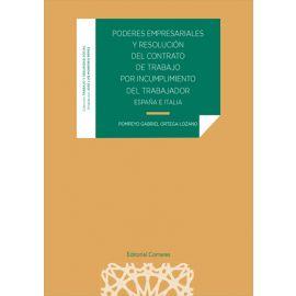 Poderes empresariales y resolución del contrato de trabajo por incumplimiento del trabajador (España e Italia)