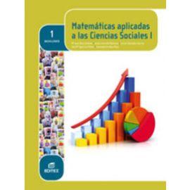 Matemáticas aplicadas a las Ciencias Sociales I. 1º Bachillerato
