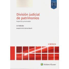 División judicial de patrimonios 2020. Aspectos procesales
