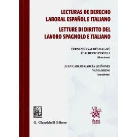 Lecturas de Derecho laboral español e italiano. Letture di Diritto del lavoro spagnolo e italiano