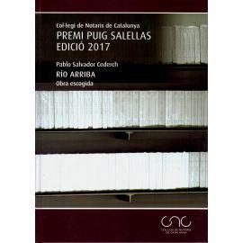 Río Arriba. Obra Escogida. Premi Puig Salellas Edició 2017