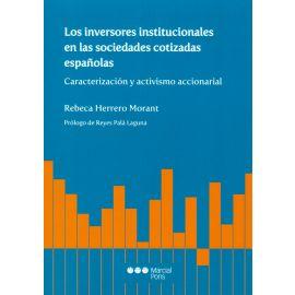 Inversores institucionales en las sociedades cotizadas españolas. Caracterización y activismo accionarial