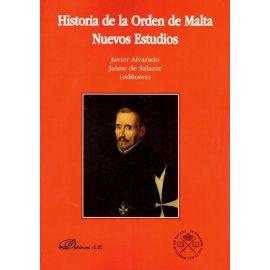 Historia de la Orden de Malta. Nuevos estudios
