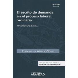 Escrito de Demanda en el Proceso Laboral Ordinario Cuadernos AS 1-2017-