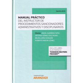 Manual Práctico del Instructor de Procedimientos Sancionadores Administrativos y Disciplinarios