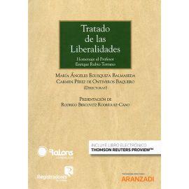Tratado de las Liberalidades. Homenaje al Profesor Enrique Rubio Torrano
