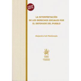 La Interpretación de los Derechos Sociales por el Defensor del Pueblo