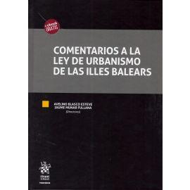 Comentarios a la ley de Urbanismo de las Illes Balears