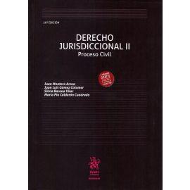 Derecho Jurisdiccional II. Proceso Civil 2018