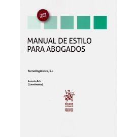 Manual de estilo para abogados